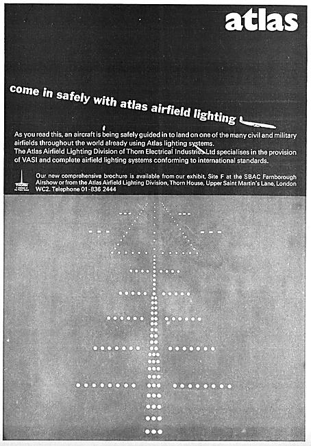 Thorn Atlas Airfield Lighting Installations