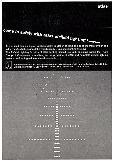 Thorn Airfield Lighting Installations 1967