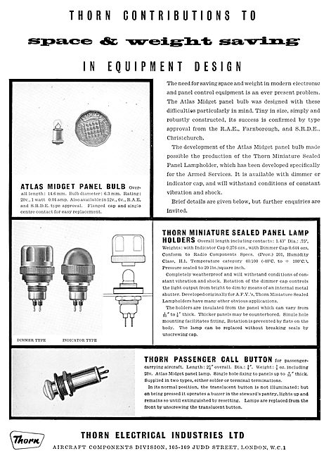 Thorn Electrical Components - Lamps & Lighting Equipment