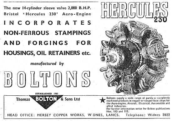 Thomas Bolton Non-Ferrous Stampings & Forgings