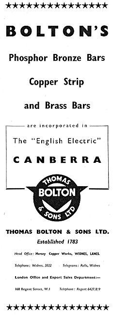 Thomas Bolton - Copper Strip & Brass Bars