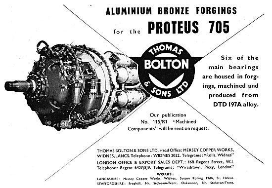Thomas Bolton - Aluminium Bronze Forgings