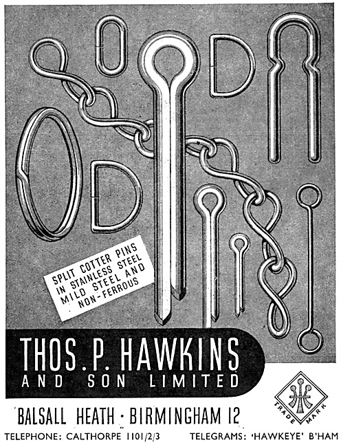 Thomas Hawkins. AGS Parts