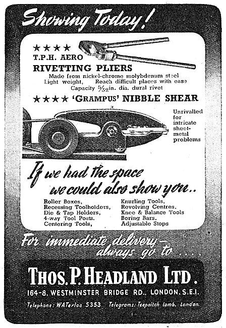 Thomas Headland Lathe Tools - Grampus Nibble Shear