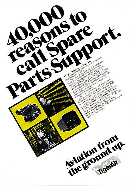Tiger Air Supply -  Aircraft Support & Parts Stockists