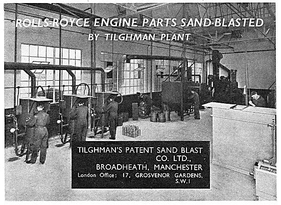 Tilghman's Patent Sand Blast Machinery