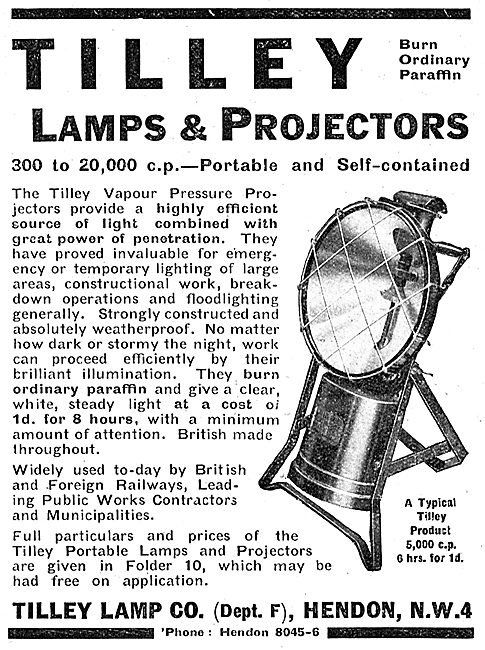 Tilley Lamps & Projectors