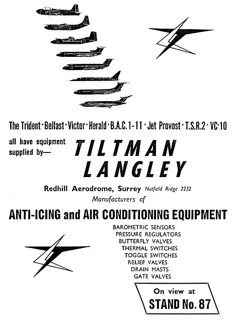 Tiltman Langley Anti-Icing & Air Conditioning Equipment