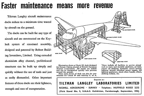 Tiltman Langley Laboratories : Maintenance Docks