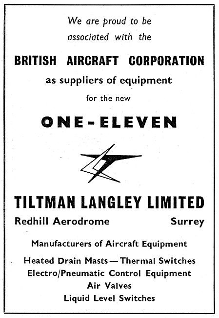 Tiltman Langley  : Manufacturers Of Aircraft Components