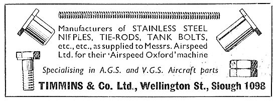 Timmins & Co. Slough. AGS Parts