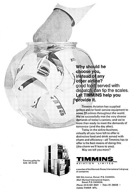 Timmins Aviation Galley Equipment