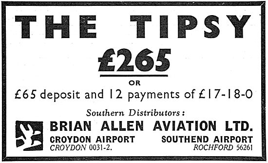 The Tipsy: £265. Brian Allen