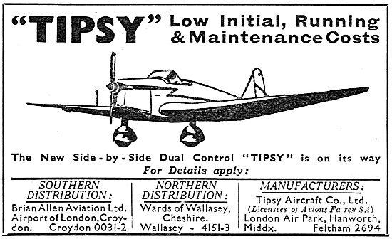 Tipsy Aircraft - UK Distributors