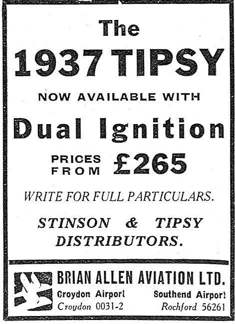Tipsy Aircraft - Brian Allen