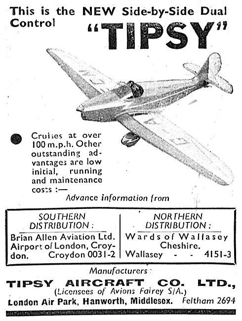 Tipsy Aircraft