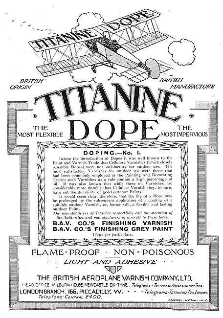 Titanine Doping Series: No 1