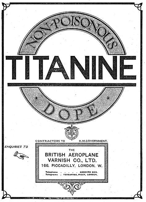 Titanine Aeroplane Dope