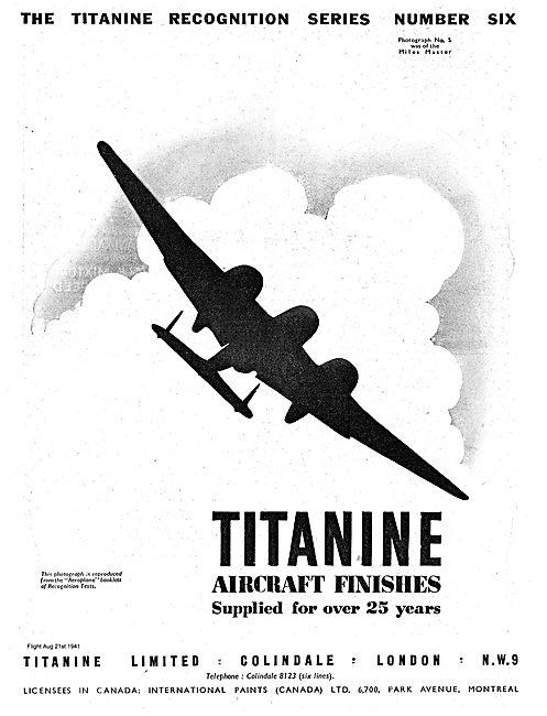 Titanine Aircraft Finishes