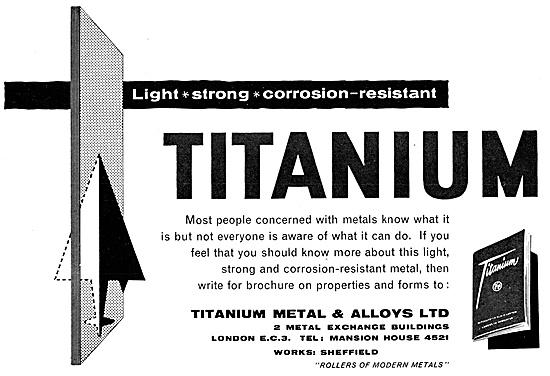 Titanium Metals & Alloys