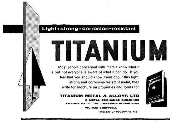 Titanium Metals & Alloys 1959
