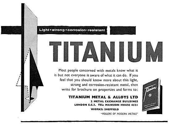 Titanium Metals & Alloys Ltd - Rolled Titanium