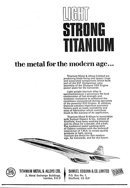 Titanium Metals & Alloys - Samuel Osborn & Co