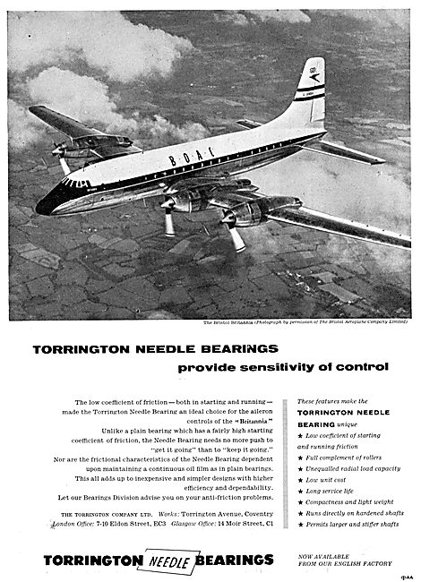 Torrington Bearings.
