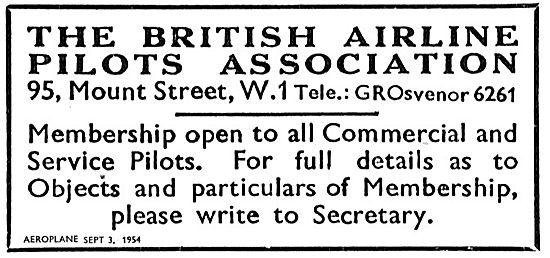 BALPA The British Airline Pilots Association