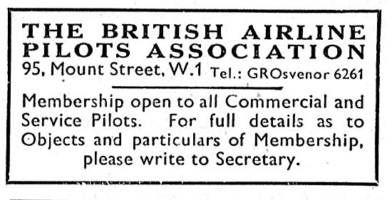 Join BALPA The British Airline Pilots Association