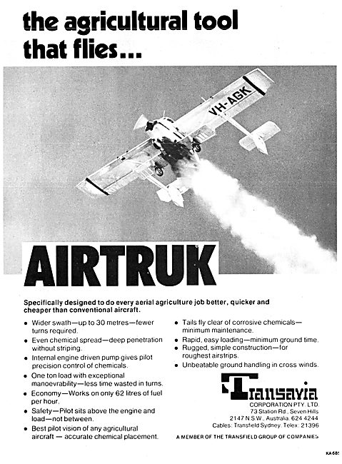 Transavia Corporation. Transavia Airtruk