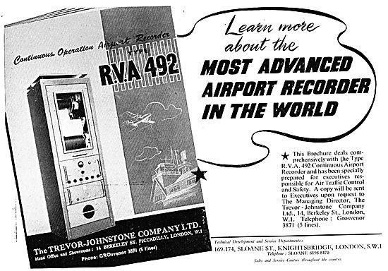 Trevor-Johnstone Airport ATC Recorders - RVA 492
