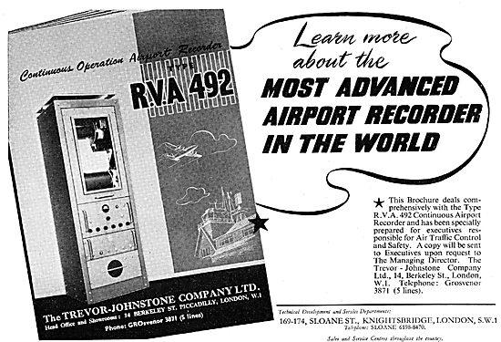 Trevor-Johnstone Airport ATC Recorders  RVA 492