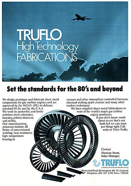 Truflo High Technology Fabrications 1978