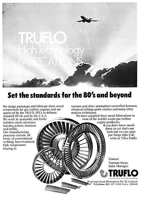 Truflo Sheet Metal Fabrications For Gas Turbines
