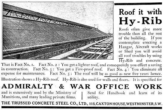 The Trussed Concrete Steel Co. Hy-Rib Buildings