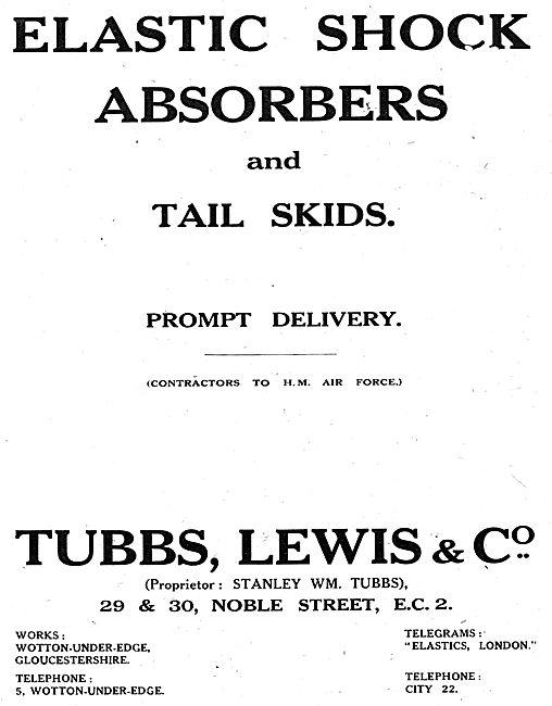 Tubbs Lewis - Elastic Shock Absorbers & Tail Skids