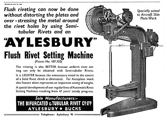 Aylesbury Rivetting Machine