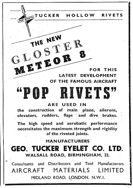 Tucker Pop Rivets 1949