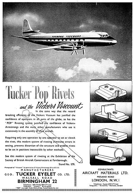 Tucker Pop Rivets