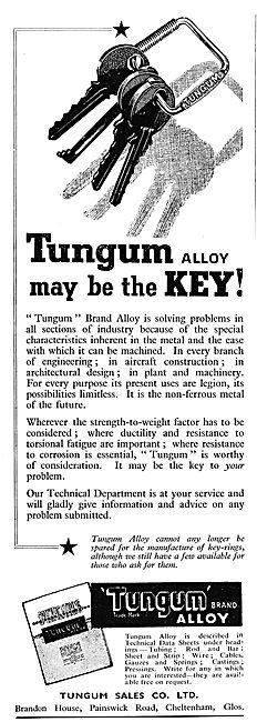 Tungum Alloy Tubing & Metal Manipulation 1943