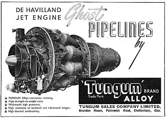 Tungum Alloy Tubes & Pipelines 1949