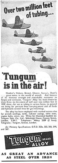 Tungum Alloy Tubing