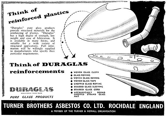 Turner Brothers Duraglas Fibre Glass Composite