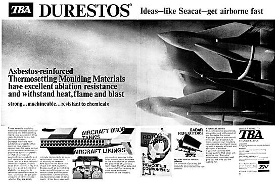 Turner Brothers DURESTOS Asbestos Reinforced Material