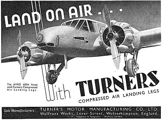 Turners Compressed Air Landing Legs