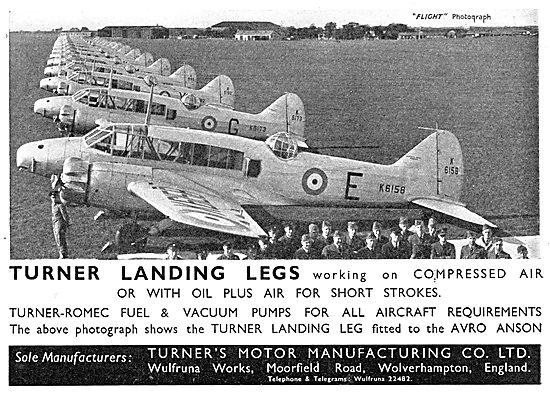 Turners Aircraft Landing Legs