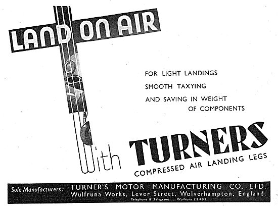Turner Turners Compressed Air Undercarriage Legs