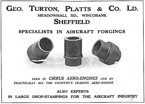 George Turton, Platts & Co : Forgings, Drop Stampings & Welding
