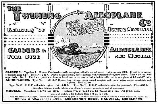 Twining Aeroplanes & Gliders